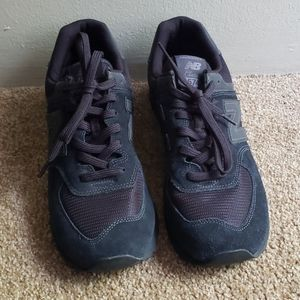New Balance Classic 574 All Black Sneakers 10.5M